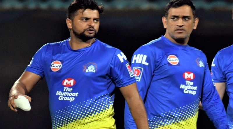 dhoni and raina retirement